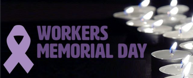 Letter to Editor: A minutes silence for Workers Memorial Day