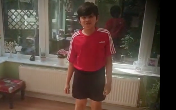 The Downs Academy student Shaurya needs your help to raise funds for Harlow Foodbank