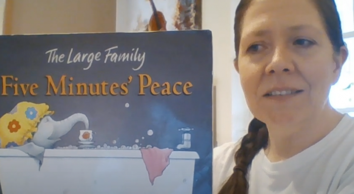Five minutes peace with Jerounds Primary Academy