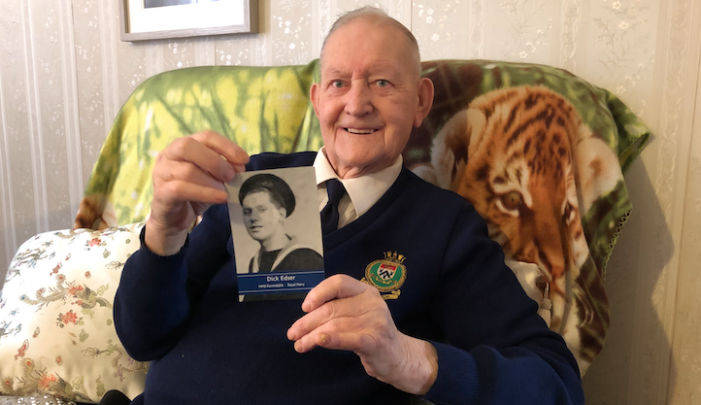 Harlow war veteran Richard Edser remembers VE Day