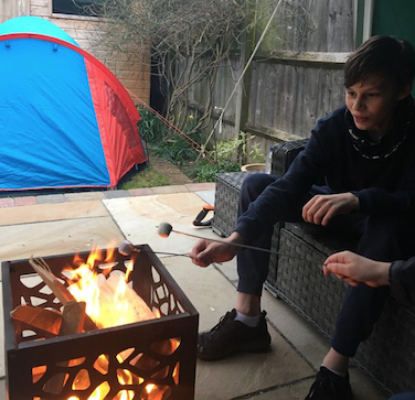BMAT student is camping out to raise money for NHS