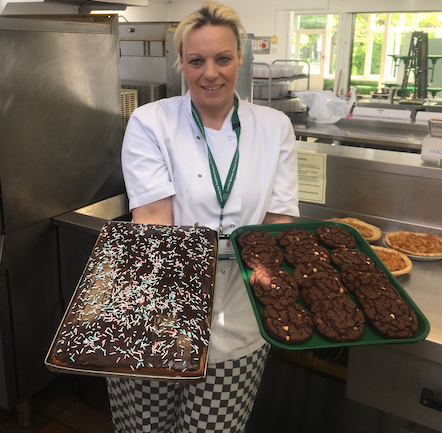 Cooks Spinney catering team donate food to homeless