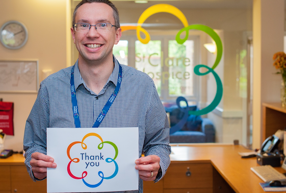 St Clare Hospice charity celebrates national Volunteers' Week and recognises 30 year commitment of seven volunteers