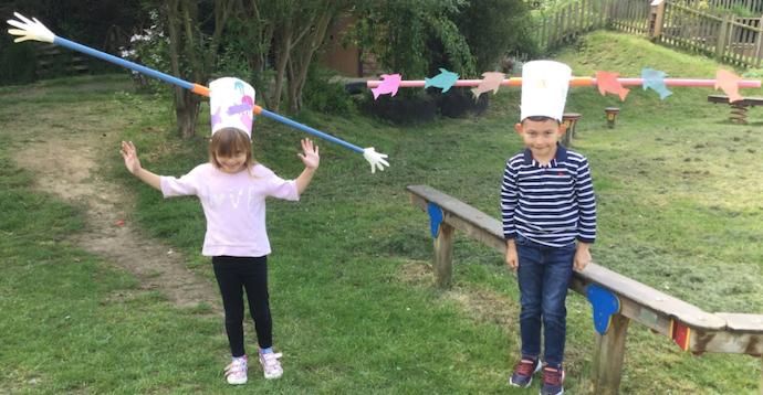 Little Parndon students make social distancing hats