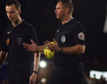 Promotion success for Harlow referees