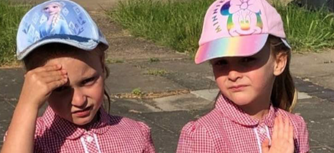 Mother of Abbotsweld Primary Academy twins describes joy at children returning to school