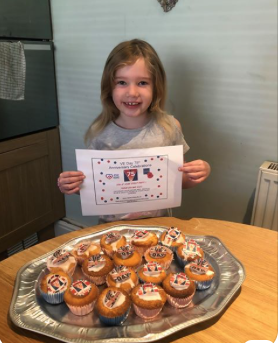 Kind-hearted Daisy has baked more cakes for charity