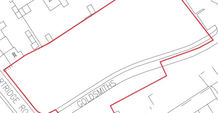 Planning application for parking spaces in Barn Mead