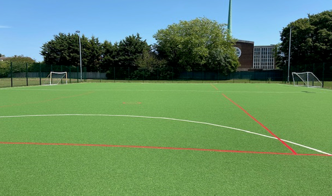St Alban's and St Luke's news sports pitches available for hire