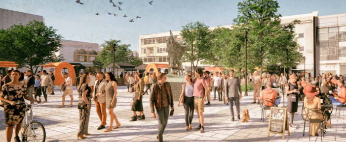 Proposals on two schemes released to support the regeneration of Harlow town centre