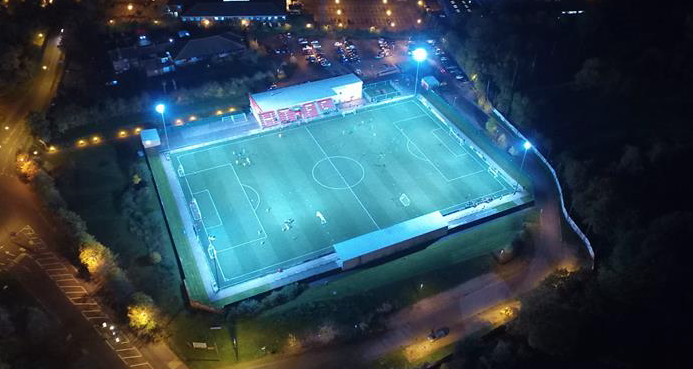 Harlow Town FC launch crowdfunder campaign for floodlight repairs