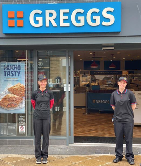 Greggs set to re-open at The Water Gardens