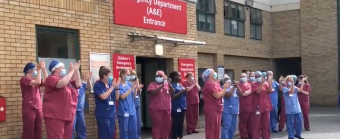 Warm round of applause as PAH marks 72nd anniversary of NHS