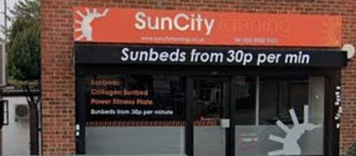 Tanning salons across the area shut down