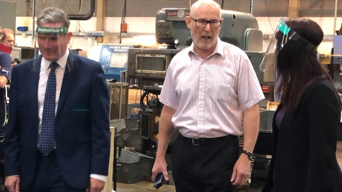 Managing Director of Harlow firm reflects on visit by Sir Keir Starmer
