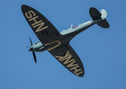Disappointment as NHS Spitfire fails to fly over Princess Alexandra Hospital
