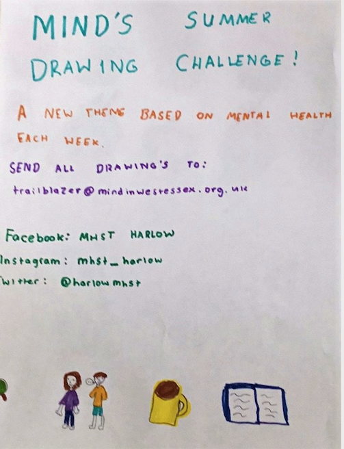 Mind in West Essex Summer Drawing Challenge
