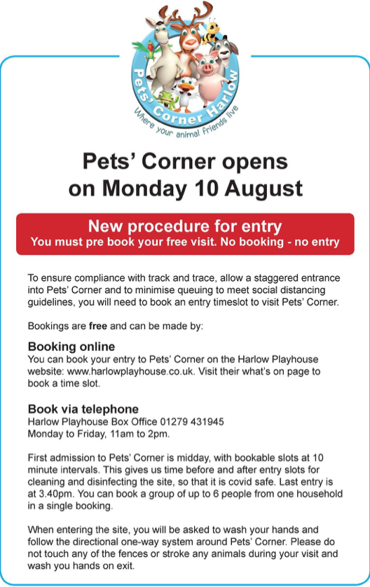Pet S Corner Set To Re Open On Monday Your Harlow