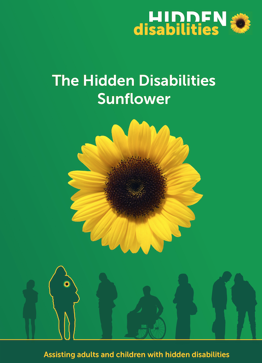 Harlow Civic Centre reception is now part of the Hidden Disabilities Sunflower scheme.