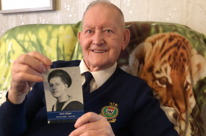 VJ Day 75: Harlow war veteran Richard Edser passes away