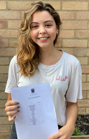 St Nicholas students celebrate GCSE results