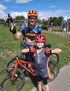 Eight-year-old Rachel takes on marathon cycle challenge for charity