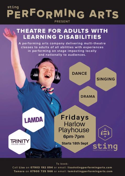 Theatre group for people with learning disabilities set to open next month