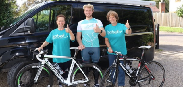 Harlow Cycling Club member takes on marathon challenge for charity