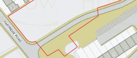 Planning application for car parking spaces in Barn Mead