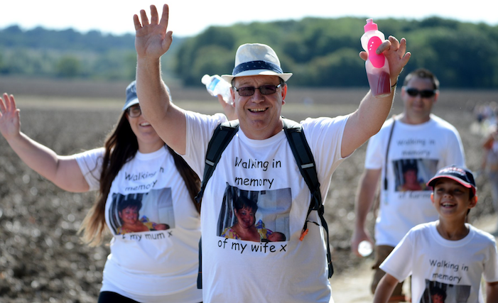 Still time to sign up to St Clare Hospice's Walking in Memory event this autumn