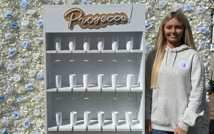 Nicole's Prop Hire business Plannagram is blooming!