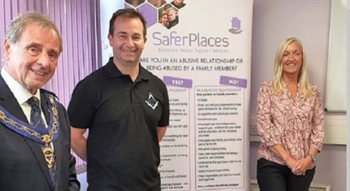 Harlow-based domestic abuse charity Safer Places receive cash boost from Freemasons