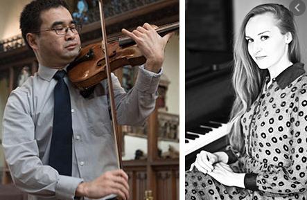 Lunchtime Concert Recital  – Fumi Otsuki and Sarah Kershaw, violin and piano
