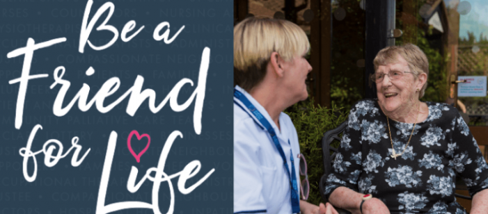 Be a Friend for Life at St Clare Hospice