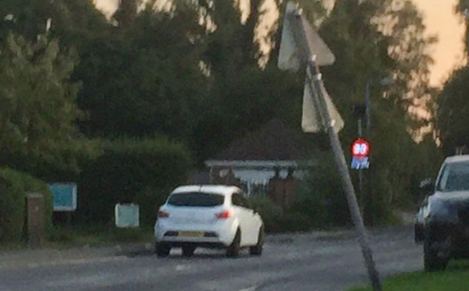 Great Parndon residents angry at speeding motorists