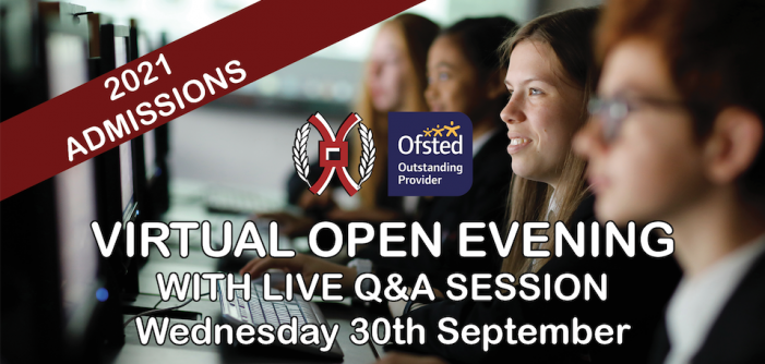 Join Burnt Mill Academy for their virtual Open Evening