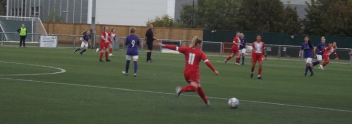 Football: Harlow Ladies hit five against Royston