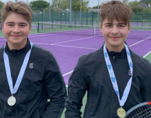 Harlow Lawn Tennis players back on ace form
