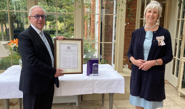 Support 4 Sight Receives Queens Award