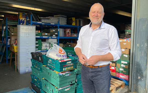 Vital time to support Harlow Foodbank