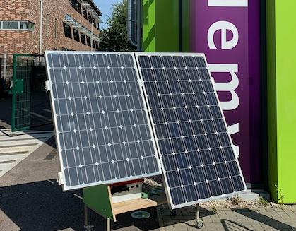 Renewable energy company partners BMAT STEM Academy