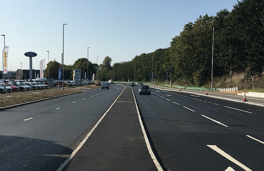Harlow residents thanked for patience as Edinburgh Way completed