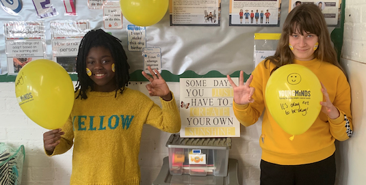 St James Primary supports Hello Yellow campaign