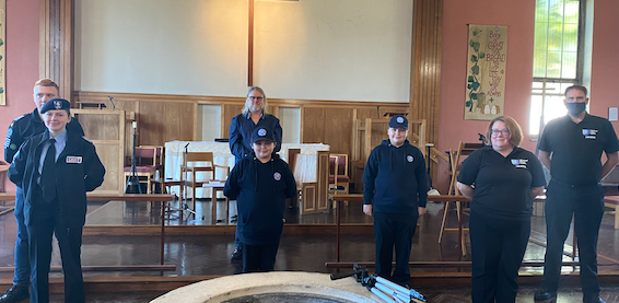 Prayers offered up for Harlow Cadets at St Stephen's Church