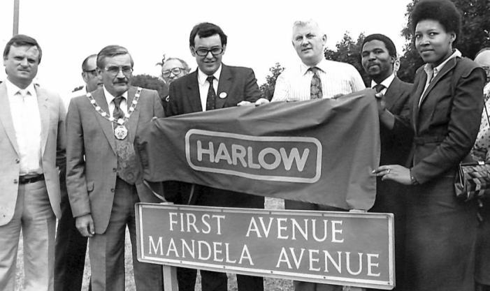 Black History Month – Harlow Council and the Anti-Apartheid movement