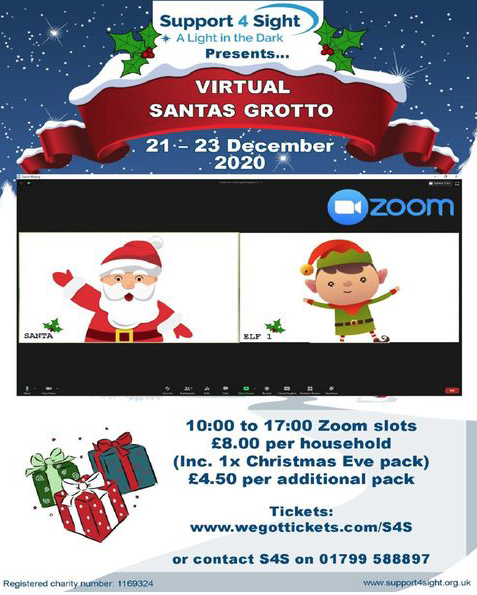 Support4Sight Virtual Christmas Grotto