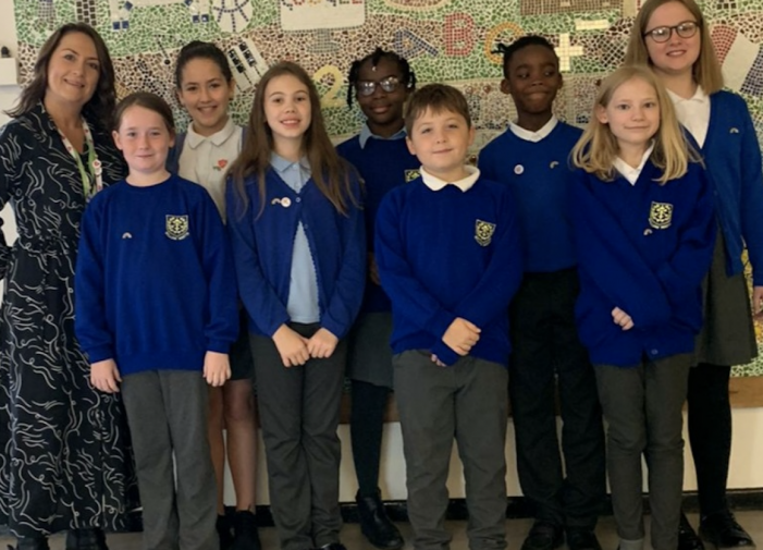 William Martin school introduce their Well-Being Ambassadors