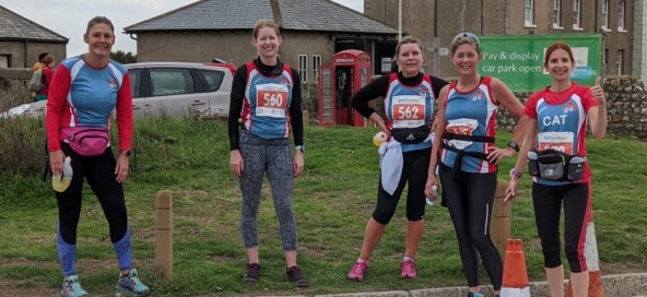 Athletics: Harlow's women conquer the hills in Beachy Head