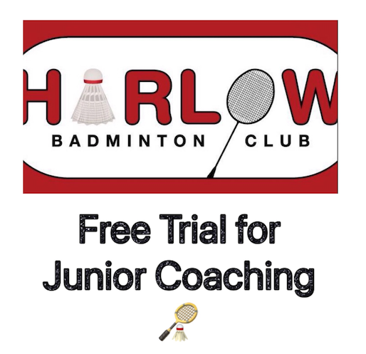 Harlow Badminton Club: Juniors welcome for free trial