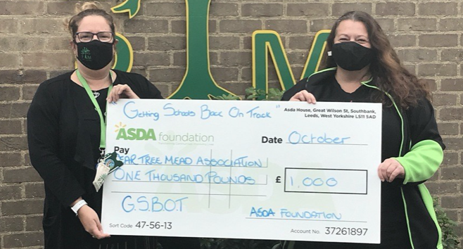 Asda Community Champions give Pear Tree Mead a cash boost
